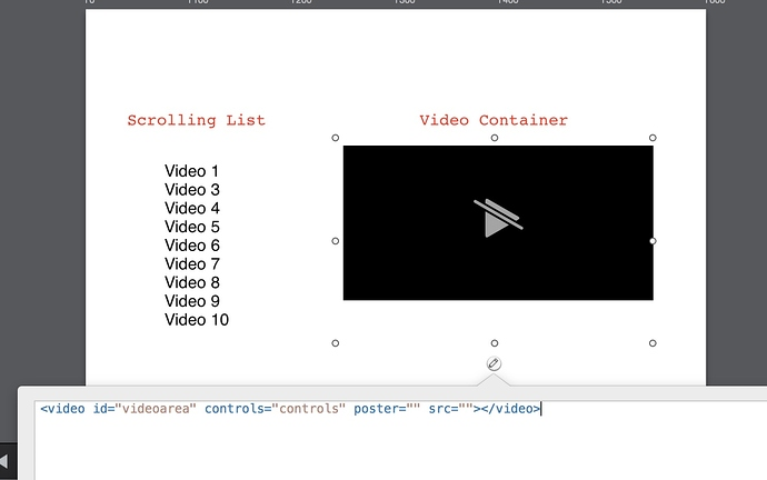 Adding a simple Video player - JavaScript - Tumult Forums
