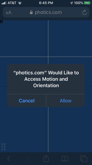 com-access-motion-orientation