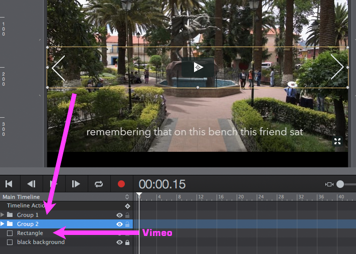 Vimeo Audio and Video - load and unload - Tumult Forums
