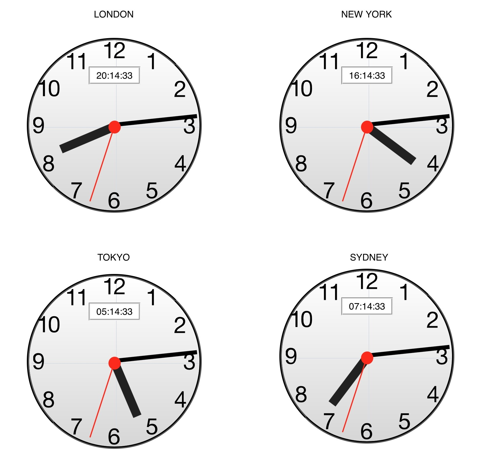 Analog Clock: Need some JS help please - JavaScript - Tumult Forums
