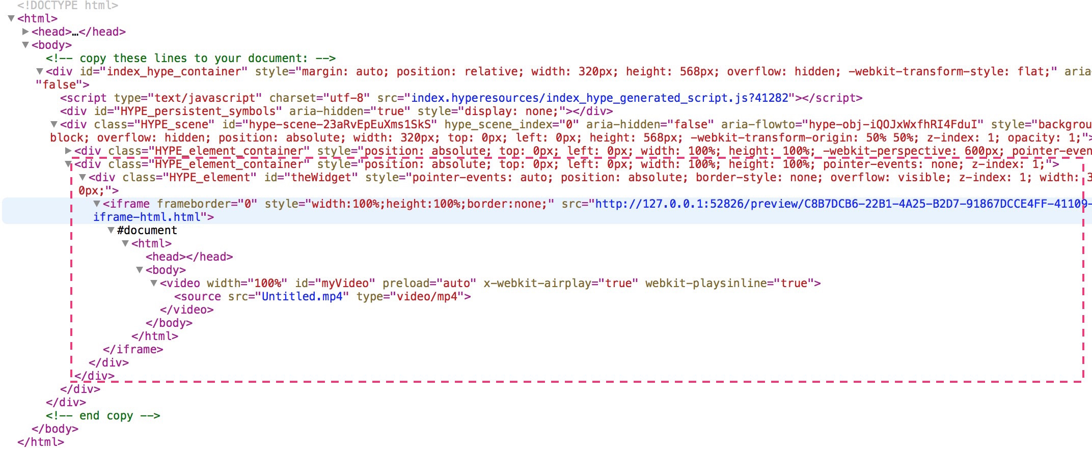 How to target Elements in a HTML Widget - Tips & Tricks - Tumult Forums