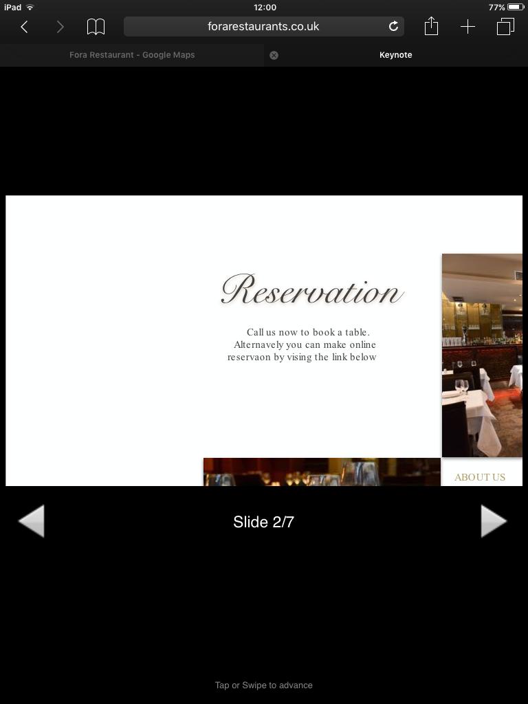 Embed Apple Keynote Presentation - Tumult Forums