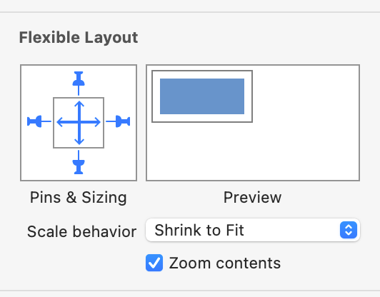 flexible-layout-scale