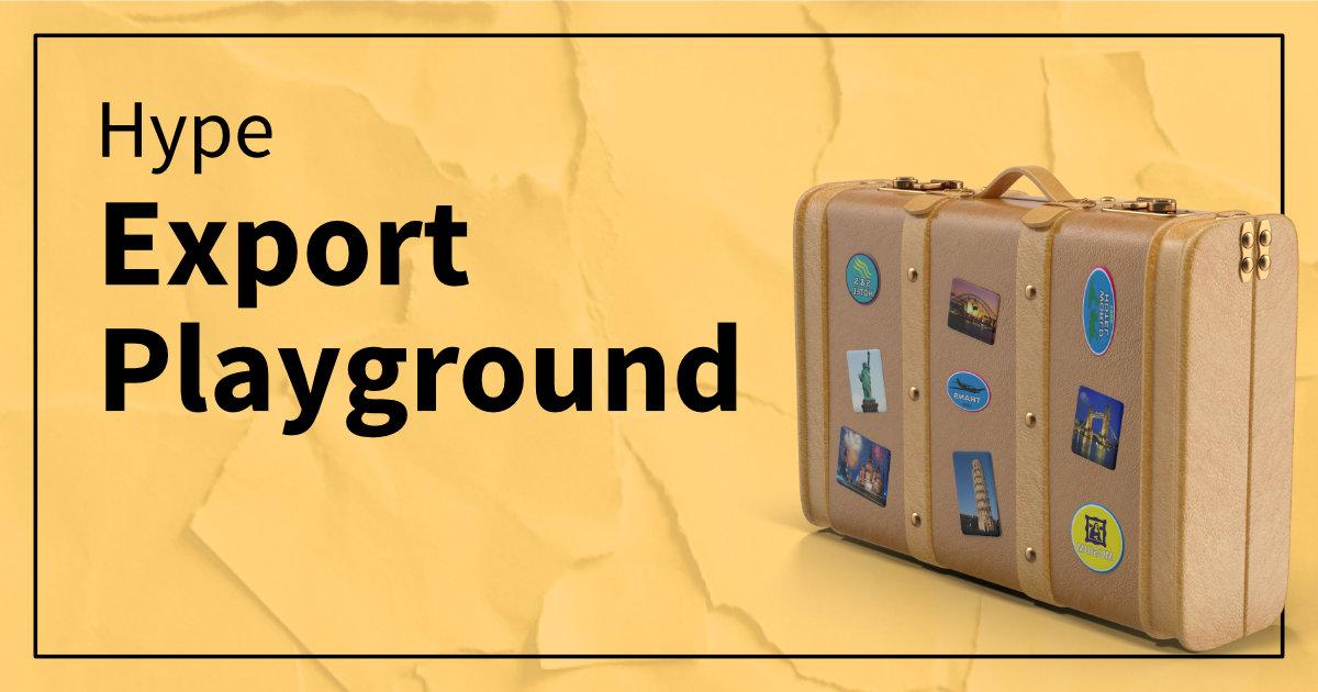 HypeExportPlayground