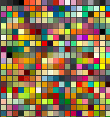 library of colors