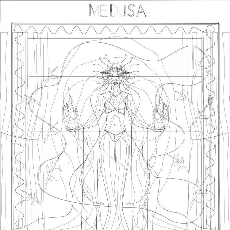 medusa_wireframe