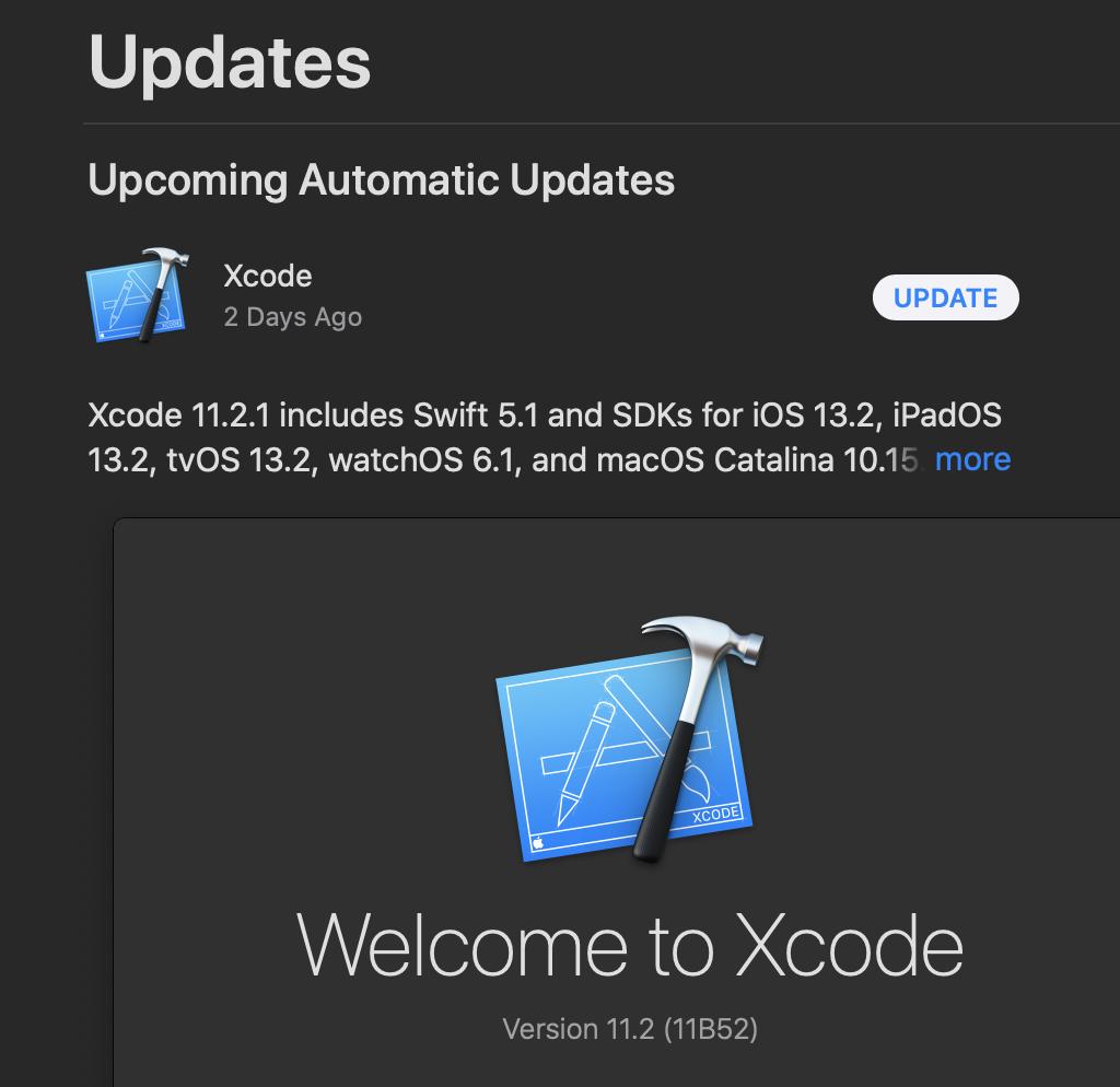 Xcode 11 Latest Version